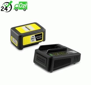 Zestaw: Szybka ładowarka + Bateria 36V / 2.5 Ah Karcher