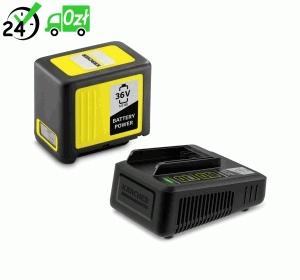 Zestaw: Szybka ładowarka + Bateria 36 V / 5 Ah Karcher