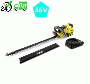HGE 36-60 Battery Set (2700 cięć/min, 60cm) akumulatorowe nożyce do żywopłotu Karcher