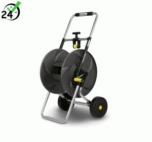 Metalowy wózek na wąż HT 80 M