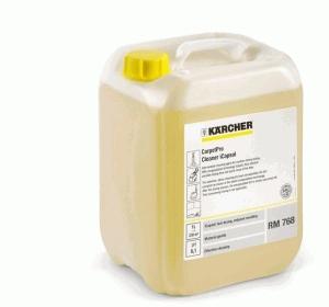 RM 768 szampon do czyszczenia wykładzin dywanowych 10l, RM 768 iCapsol środek do pielęgnacyjnego czyszczenia wykładzin, Karcher