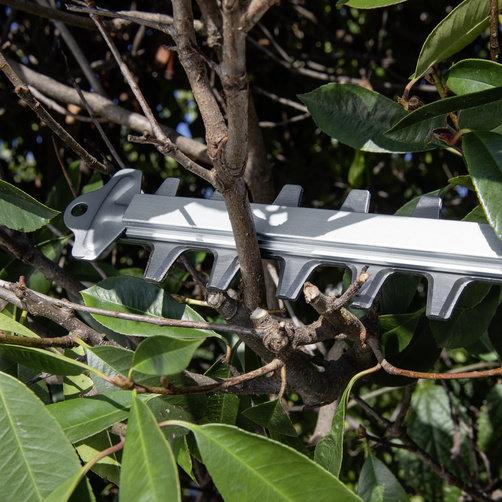 Akumualtorowe nożyce do żywopłotu HGE 18-50 firmy Karcher